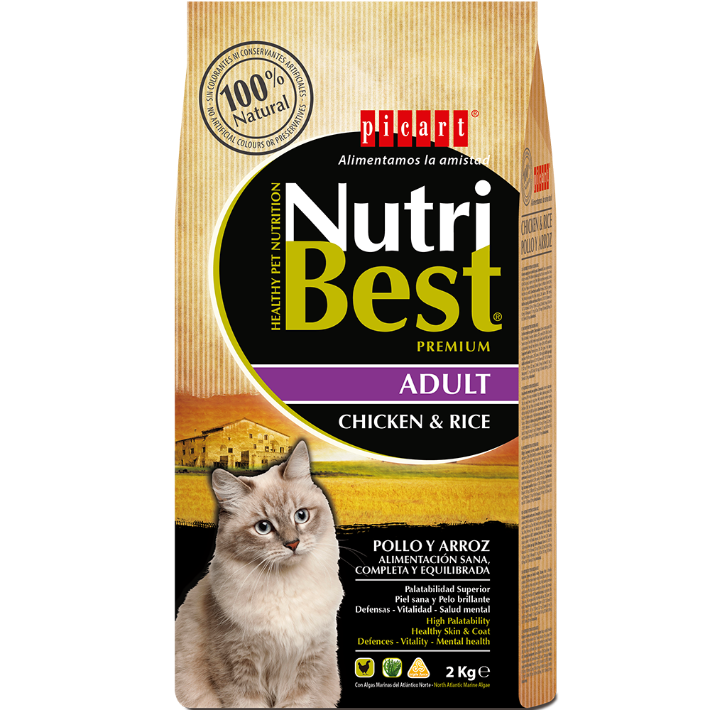 NutriBest Adult Chicken & Rice 2 kg 30/11