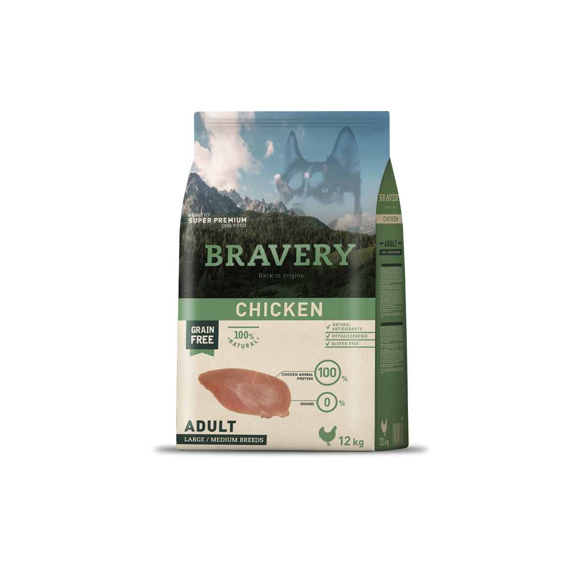 Bravery Adult Medium/Large Chicken 26/15